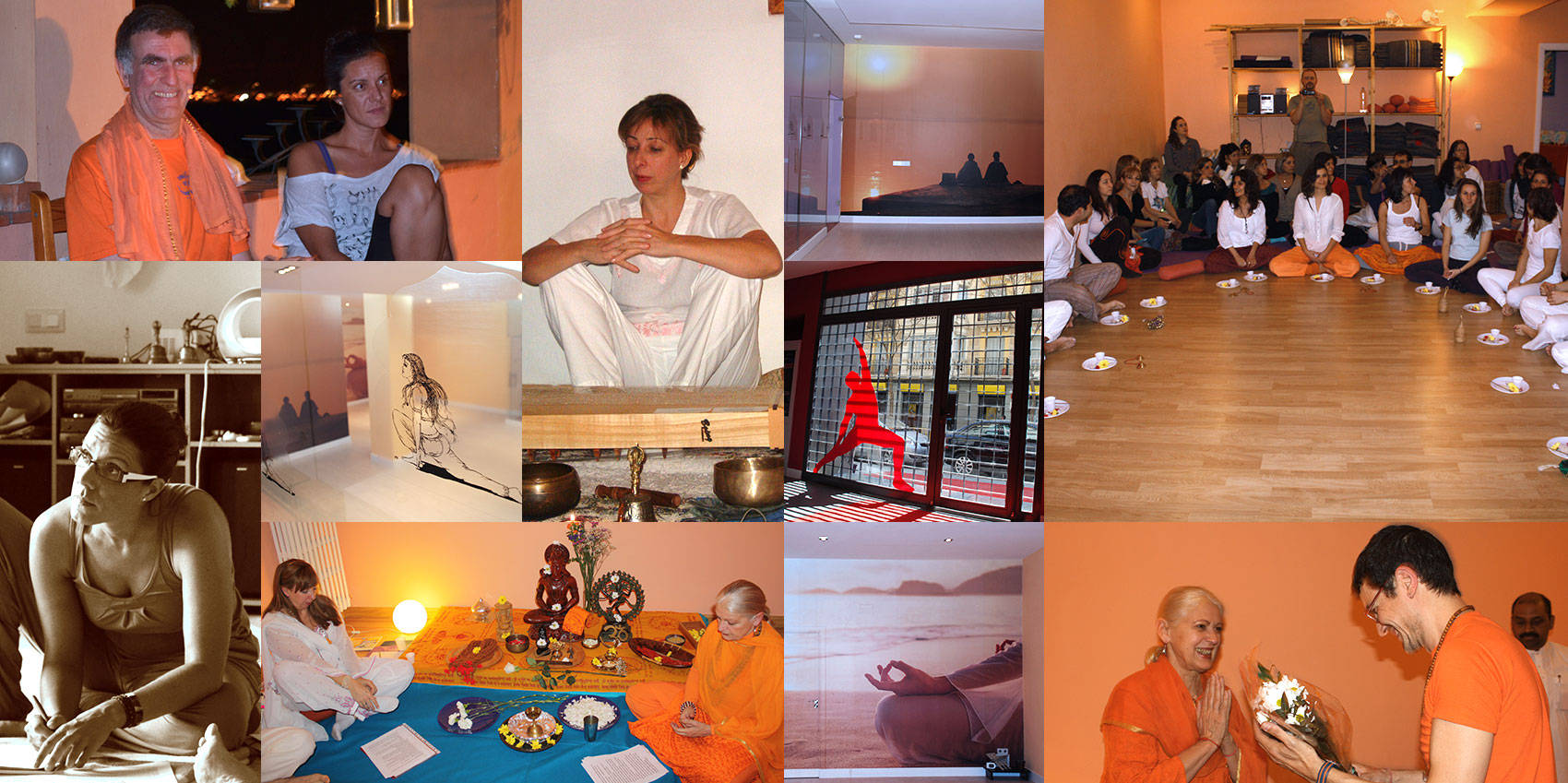 Collage Escuela de Yoga