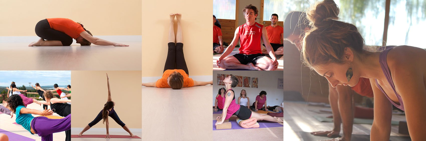 Collage Profesores de Yoga